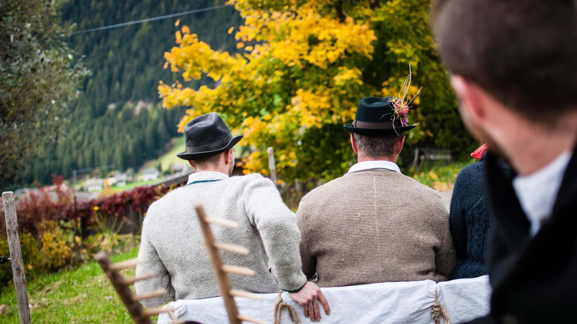 Südtiroler Almabtrieb im Pustertal