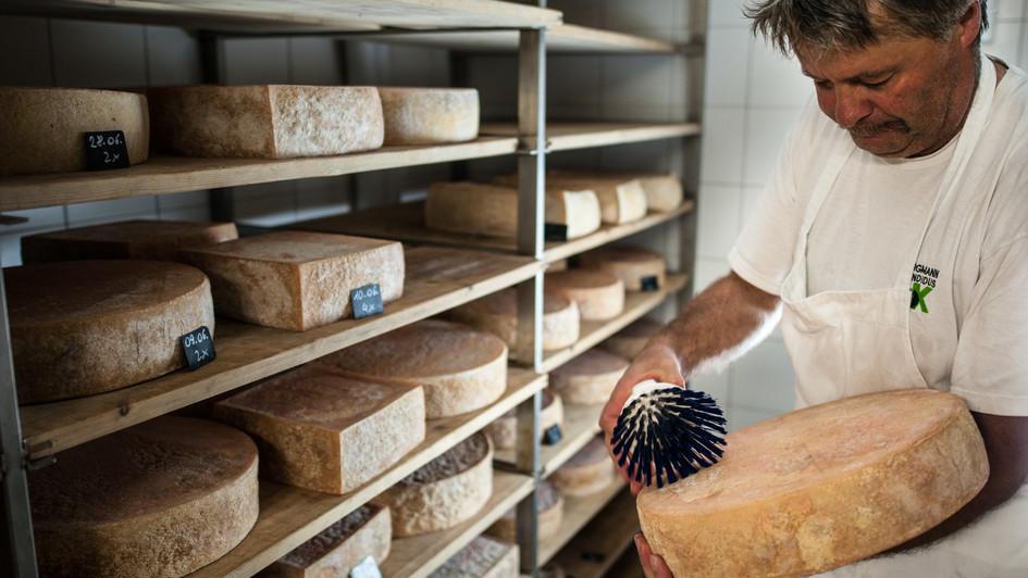 Gsiesertal Bio Käse im Wanderhotel des Pustertals